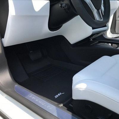 3D MAXpider Kagu floor liners in Tesla S Driver Side