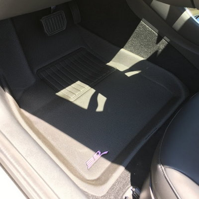 3D MAXpider floor liners for Tesla 3 front row