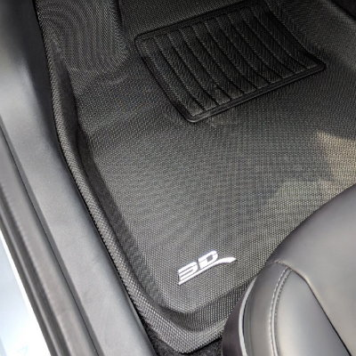 3D MAXpider floor liners for Tesla front row