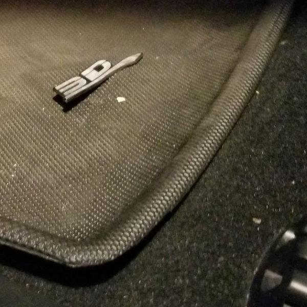 Tesla Model S with 3D MAXpider Floor liners